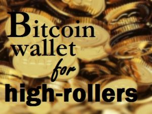 high roller bitcoin casino wallet subdivisions